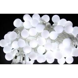 vánoční řetěz koule - 50 LED diod - 5m