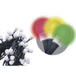 200 LED dekor. osvětlení - kulička 20M multicolor, časovač