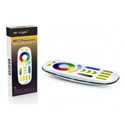 MiLight 2.4Ghz Dálkový ovladač dotykový pro RGB/RGBW FUT092 LED pásky 4 zóny