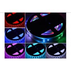 Led pásek 5050 5m 120ks/m 14,4W/m RGB TM1812 2 řady