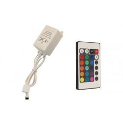 IR Dálkový ovladač 24key pro RGB LED pásky