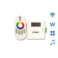 RF Touch Dálkový ovladač Music pro LPD6803