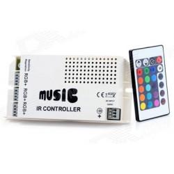 IR Dálkový ovladač 24key Music pro RGB LED pásky