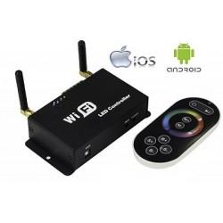 WIFI jednotka pro RGB LED pásky i jednobarevné pásky WF100