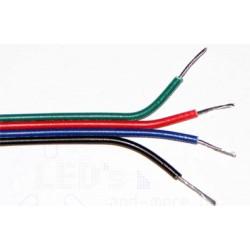 RGB kabel plochý 4x0,35mm