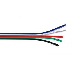 RGBW kabel plochý 5x0,35mm