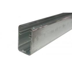Hliníkový profil pro skleněné police 8mm sklo 2 metry