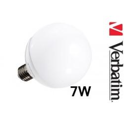 Verbatim LED žárovka Globe 7W E27 2700K mléčná DIM