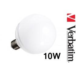 Verbatim LED žárovka Globe 10W E27 2700K mléčná DIM