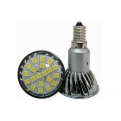 LED žárovka E14 3W,20 LED 5050SMD, 2800-3300K